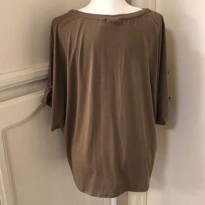 Halogen Tops - Halogen buttery soft cold shoulder top